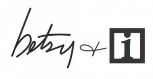 betsy + i logo