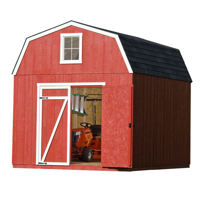 Heartland Estate Gambrel Wood Storage Shed