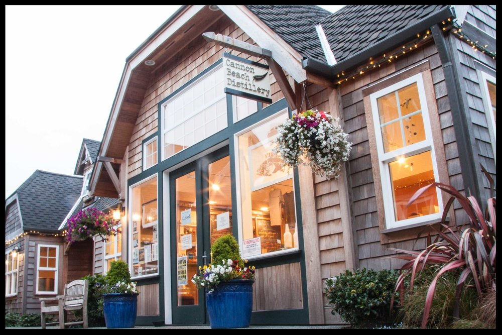 Our location in downtown Cannon Beach.
