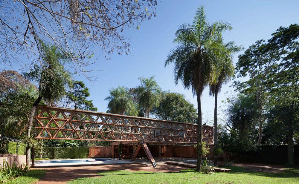 Quincho Tia Coral, Gabinete de Arquitectura (foto: Federico Cairoli)