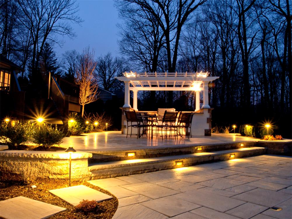 landscape lighting mystical landscapes