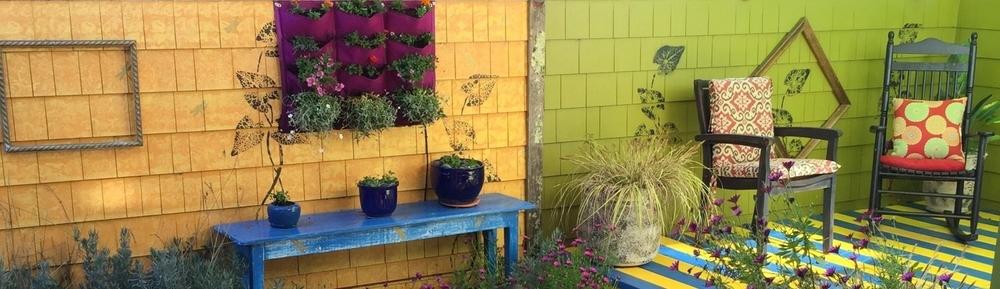 Patio Wall Mounted Mini Garden 1 18 Mar 15.JPG