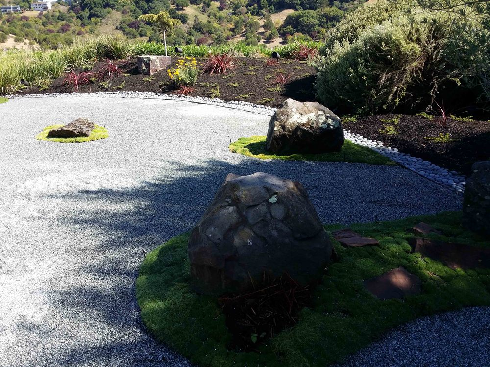 zen garden design - Mill valley landscape architect
