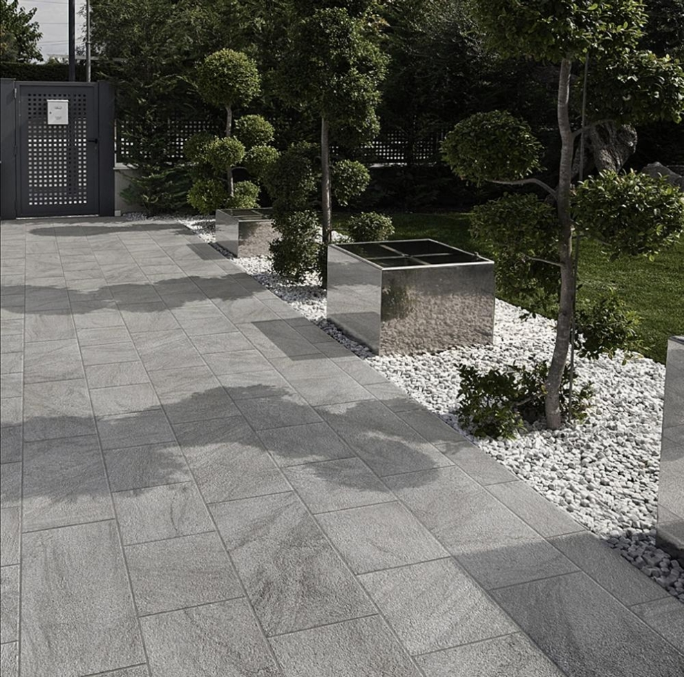 Stonetrack Grey - Marin Landscape Installer