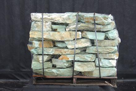 Turquoise Ledge Veneer Stone - San Rafael Landscape Designer