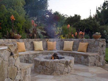 Napa Basalt Basket Wallstone - Marin Landscape Designer
