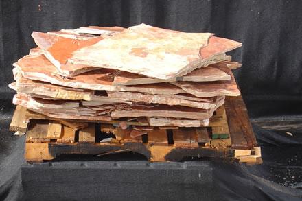 Mexican Leather Flagstone Limestone - San Rafael Landscape Designer