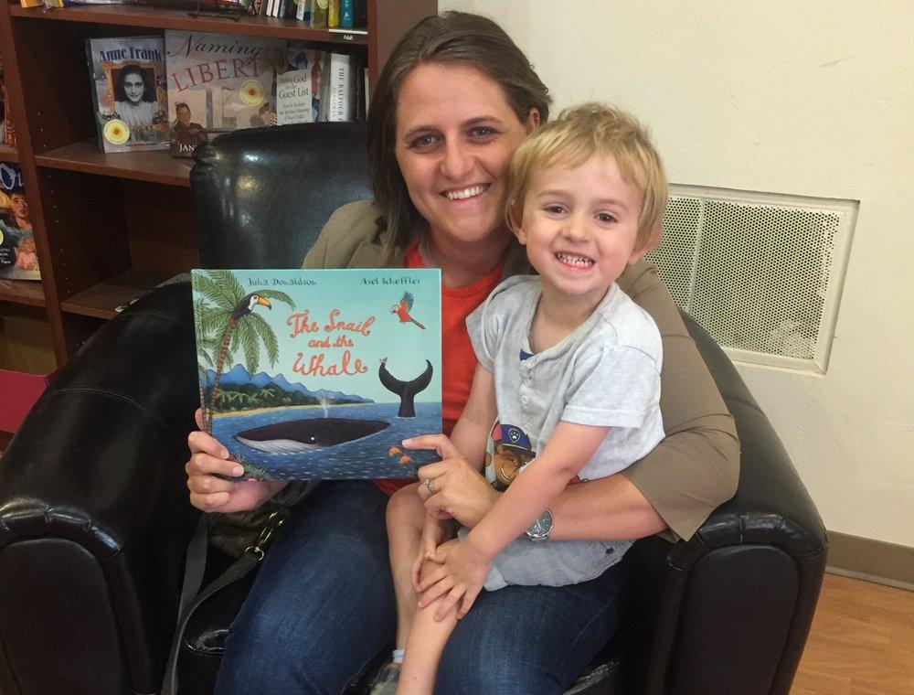 Tucson Preschool reading books
