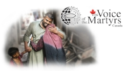 Join me in supporting persecuted brothers and sisters around the world. Learn more at: www.vomcanada.com