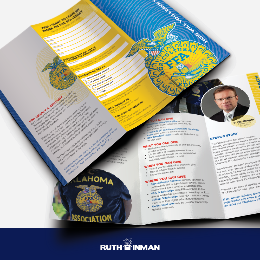 Oklahoma FFA Foundation Brochure