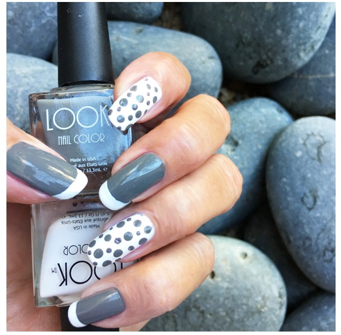 Duo Dot Nail Art