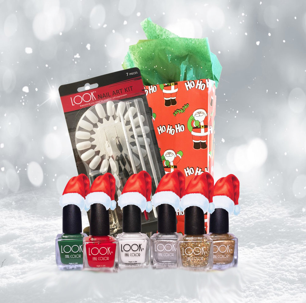 And here it comes...the HOLIDAYS! - What about some HOLIDAY NAIL ART?Our HOLIDAY 2017 GIFT COLLECTION has all the FESTIVE shades you'll need, PLUS....all the TOOLS you'll need to create your own HOLIDAY Nail Art designs.50% OFF! ($50 Value...Only $25) - FREE Shipping - FREE Gift Wrap too!Who doesn't like the word....FREE ?Get a FREE Nail Art Practice Wheel Set too!Simply ADD the NAIL ART PRACTICE WHEEL to your cart...and usePROMO CODE