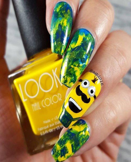 Best Bright Brilliant Yellow - #001 LOOK Lemon Nail Polish — LOOK ...