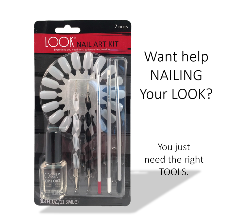 #039 Nail Art Kit - $10.00