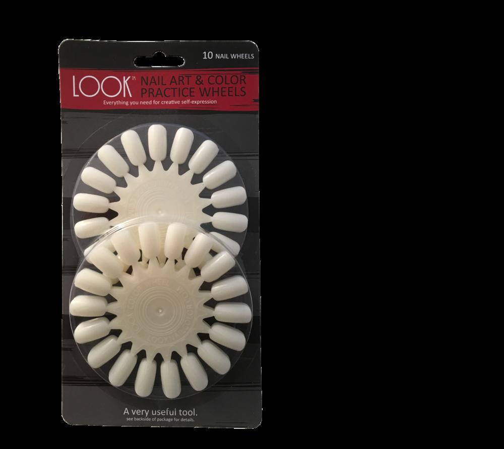 #042 Nail Art Practice Wheel - $6.00