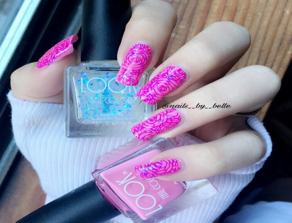Fun with Nail Art Stamping   LOOK Nail Color STAMPS like a charm! Check out this video and see for yourself.!