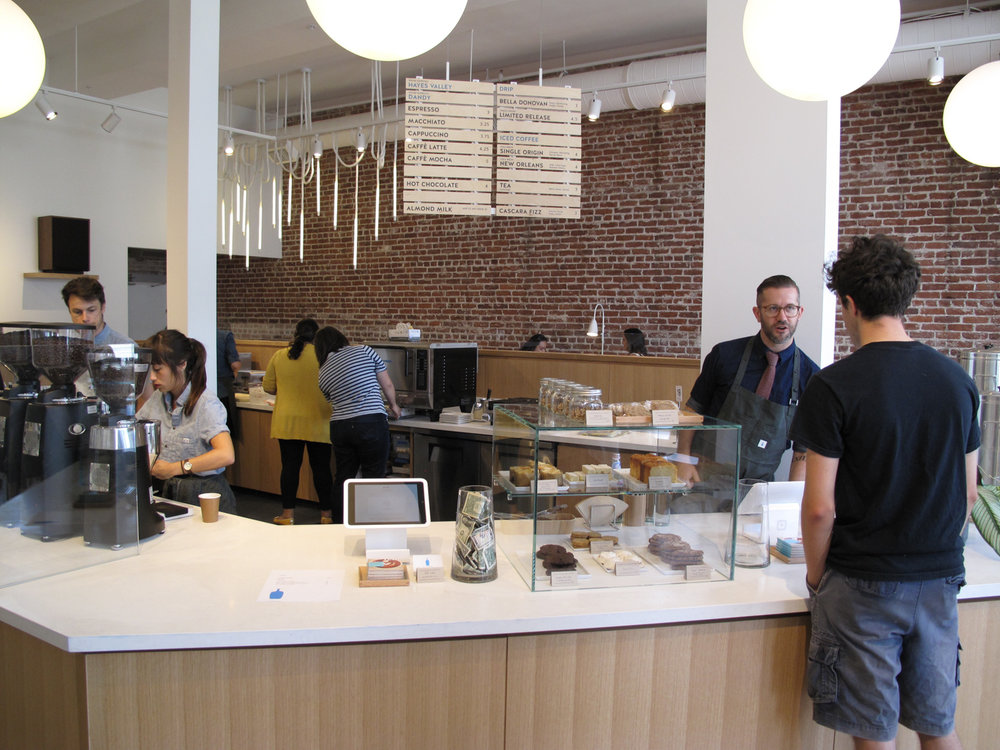 BLUE BOTTLE COFFEE  |  Los Angeles, CA