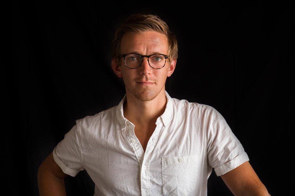 Luke Kelly, Mamaroneck-based lighting designer.