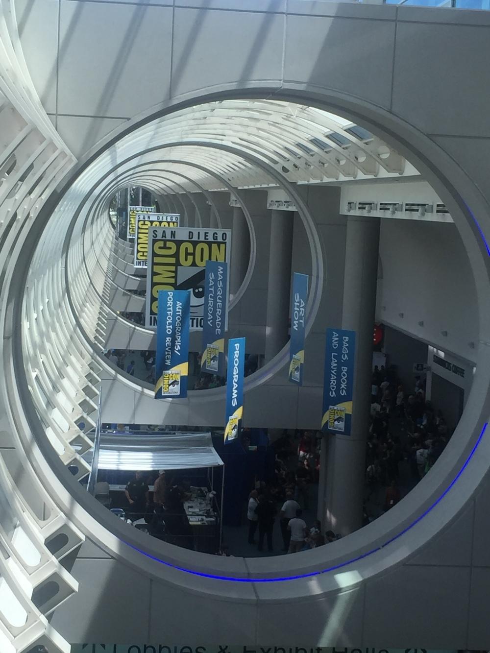 Comic-Con Hallway