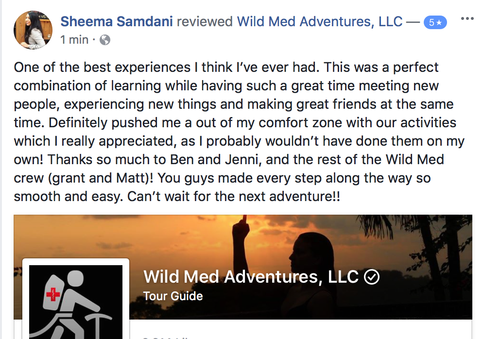 Facebook Review: Costa Rica Tropical Medicine and Wellness Retreat