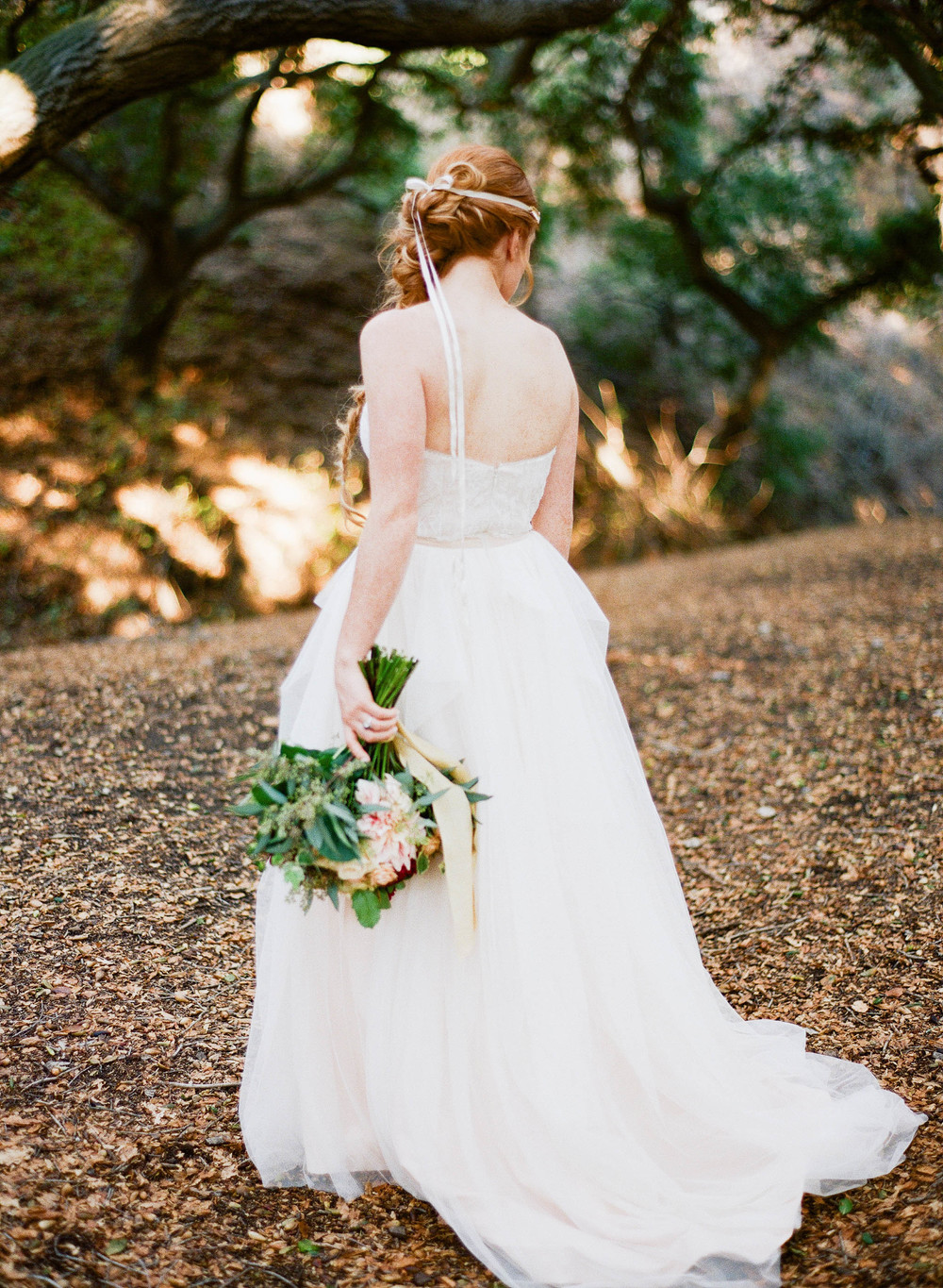 Venue Oak Canyon Nature Center Beauty Susie Chhuor Calligraphy Luminous Lines Rentals Pretty Vintage Wedding Gown Designer Truvelle