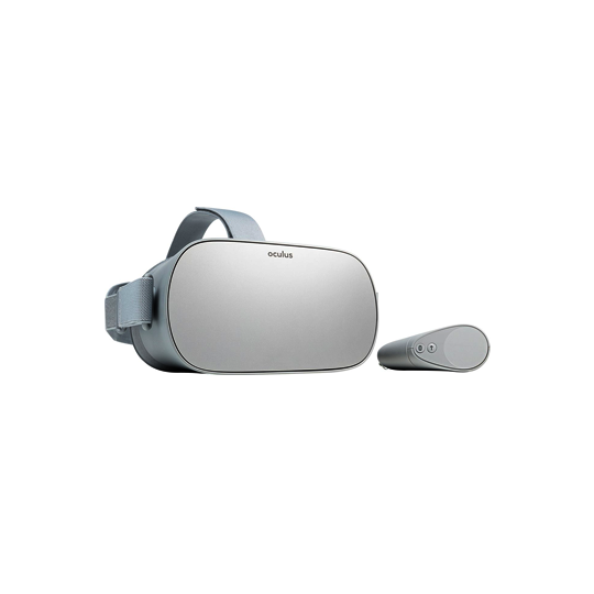 Oculus Go - Rental includes: 1 Oculus Go headset, remote controller, charging cable, extra AA battery for the remote controller, cleaning wipes, traveling case.Pricing: $50 for 90 min or $80 per day.