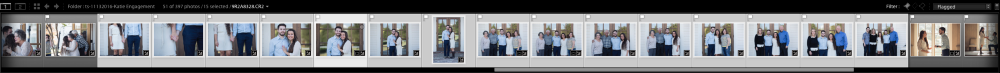 Anchor Photos Lightroom Editing Filmstrip