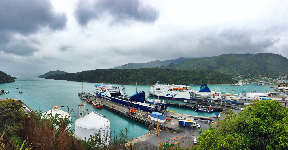 North bound ferries at the PIcton Harbour