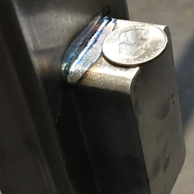 Itty bitty welds