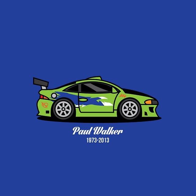 ilthyworkshop: My tribute to Paul Walker. RIP