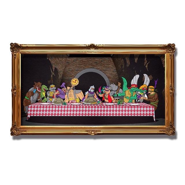 ilthyworkshop: The last supper. www.gleninfante.com
