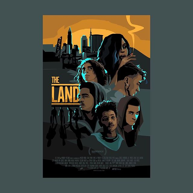 @thelandmovie poster art
