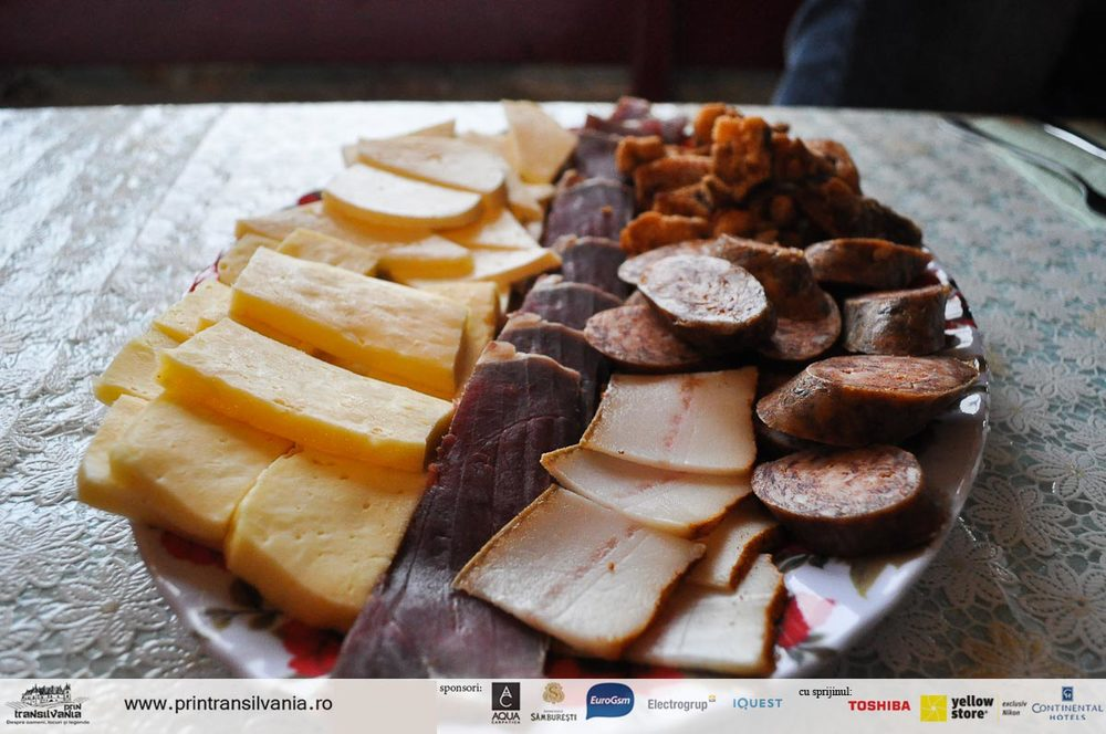 Traditional products from Apuseni mountains