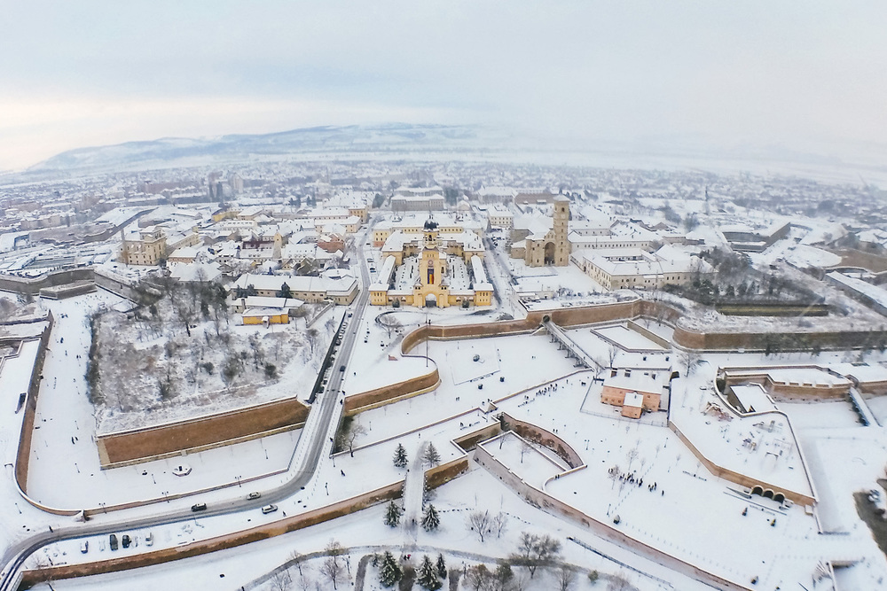 Winter in Alba Iulia