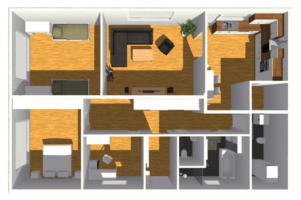 typový projekt A.1 - 124 m2