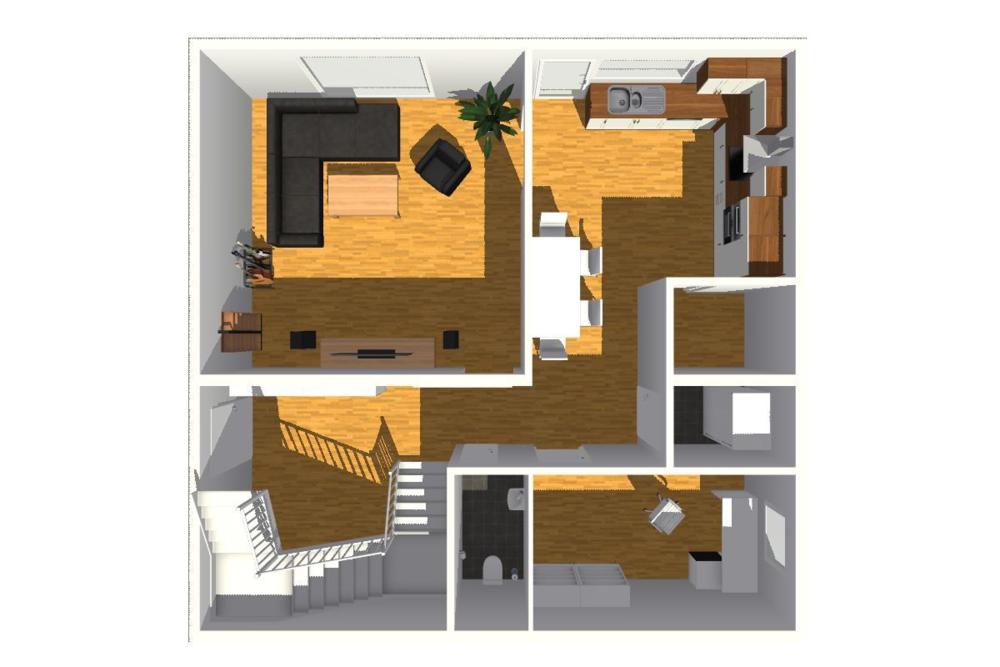 typový projekt B.5 - 144 m2