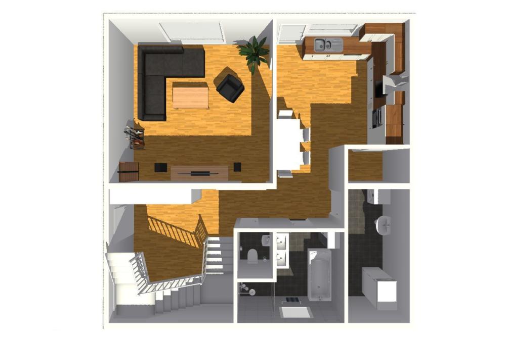 typový projekt B.4 - 150 m2