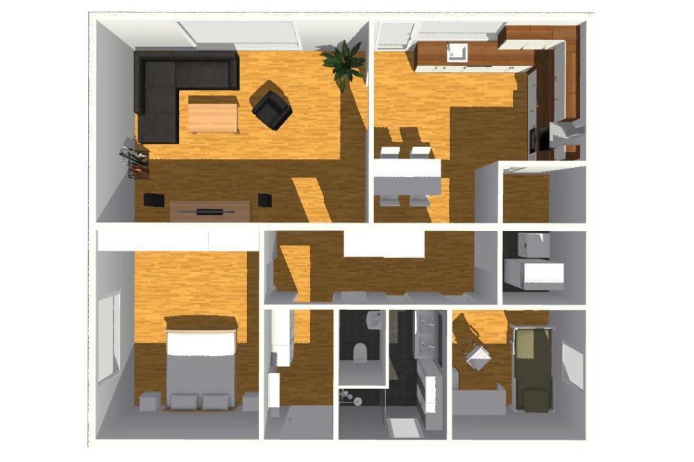 typový projekt A.2 - 90 m2