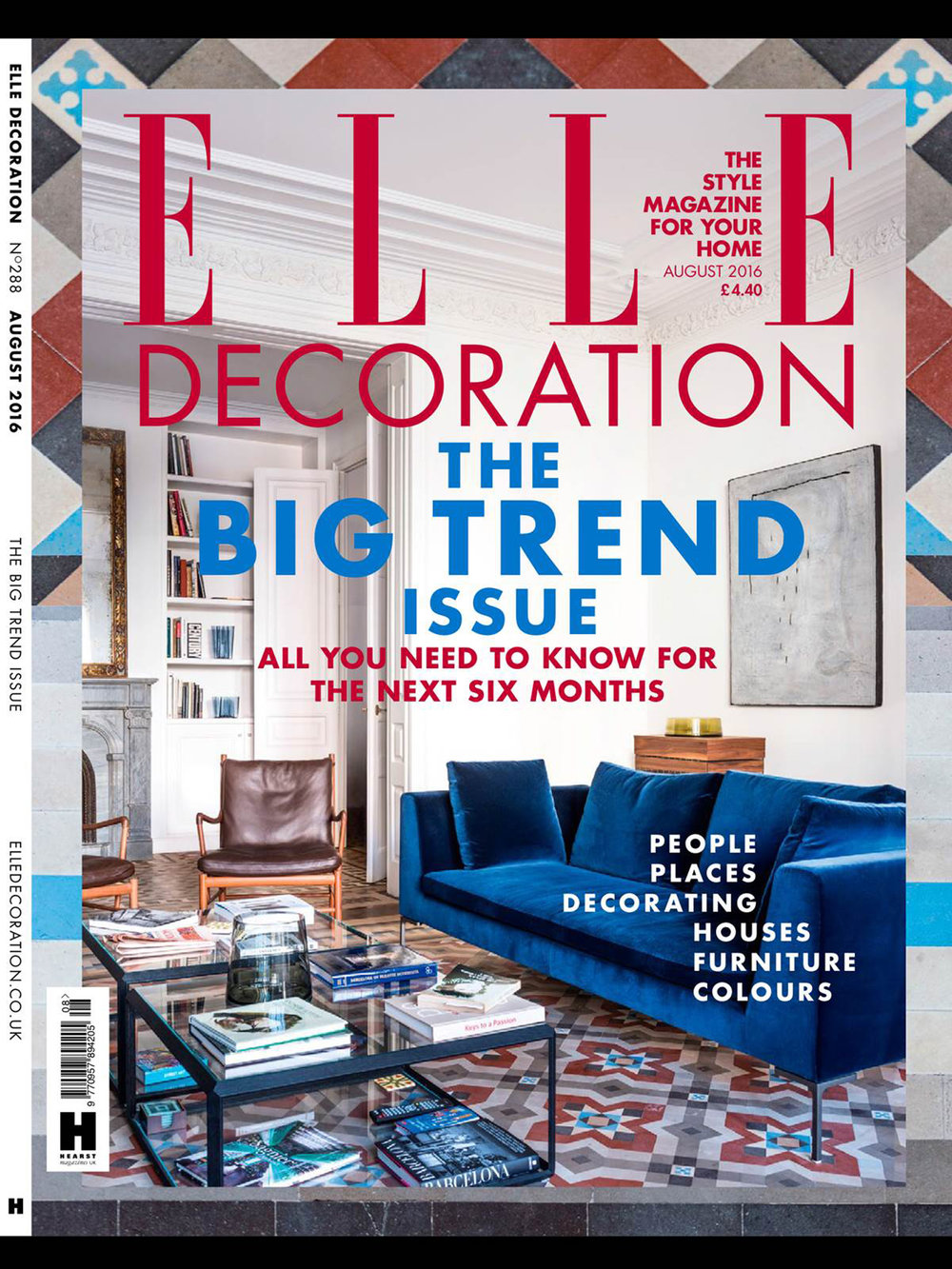 Elle Decoration – Aug 16