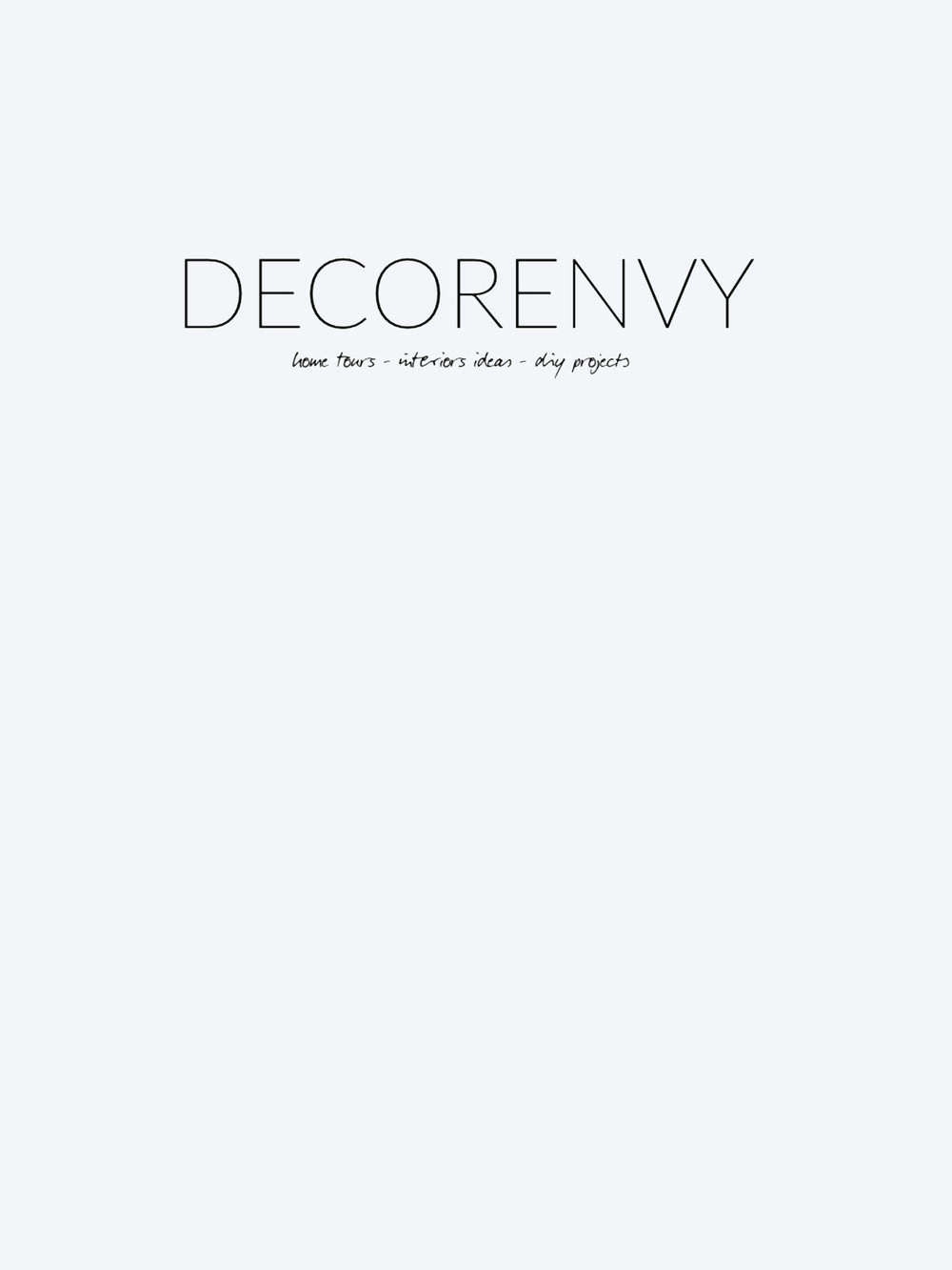 Decorenvy – May 16