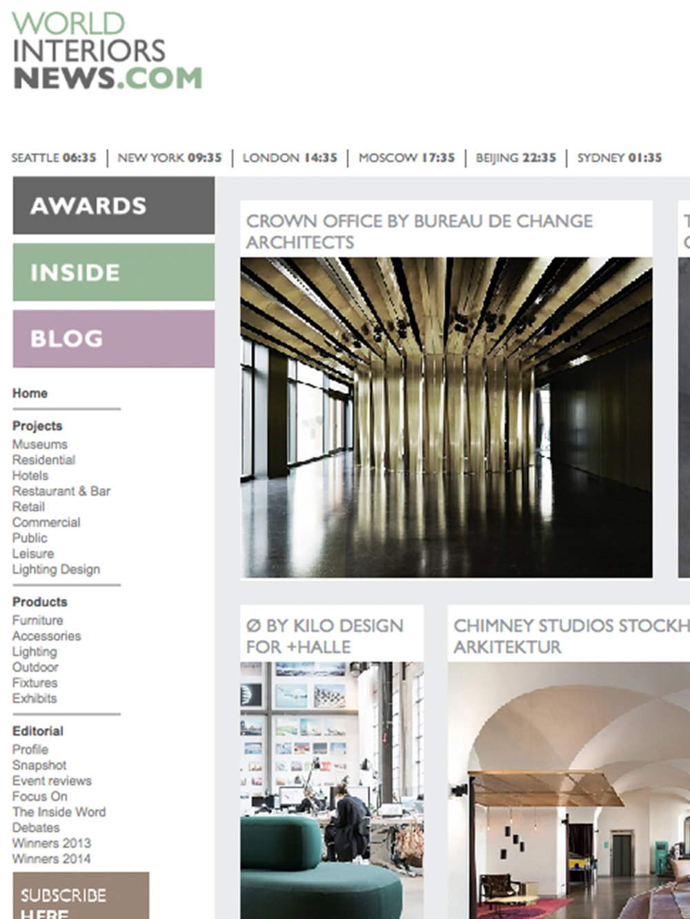 World Interiors News – Jan 16