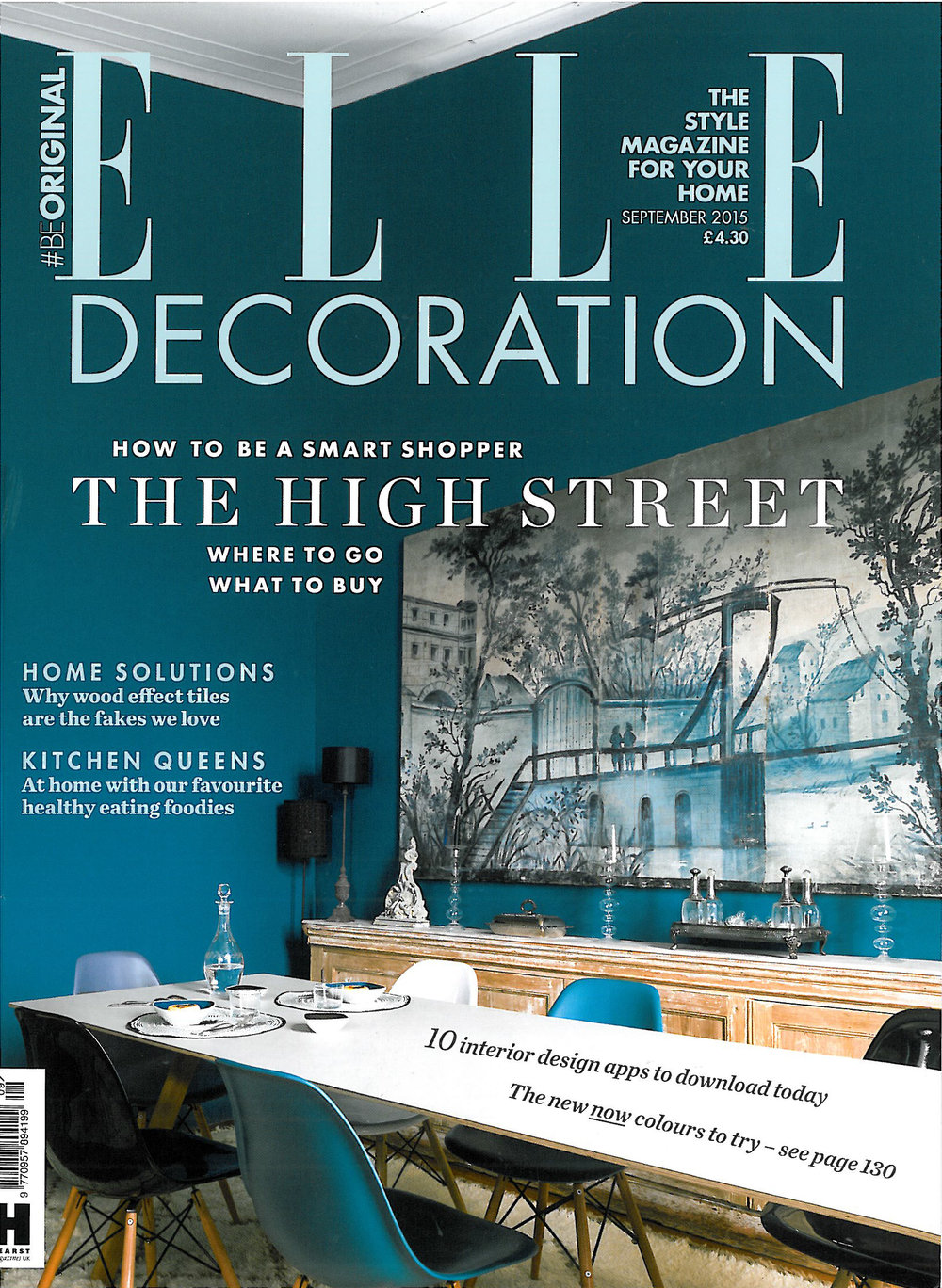 Elle Decoration – Sept 2015