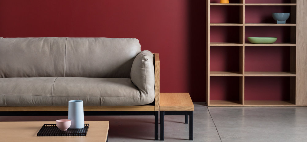 Take a Seat   Introducing the Legna sofa in distressed pull-up leather, inspired by British mid-century design classics.   Learn more
