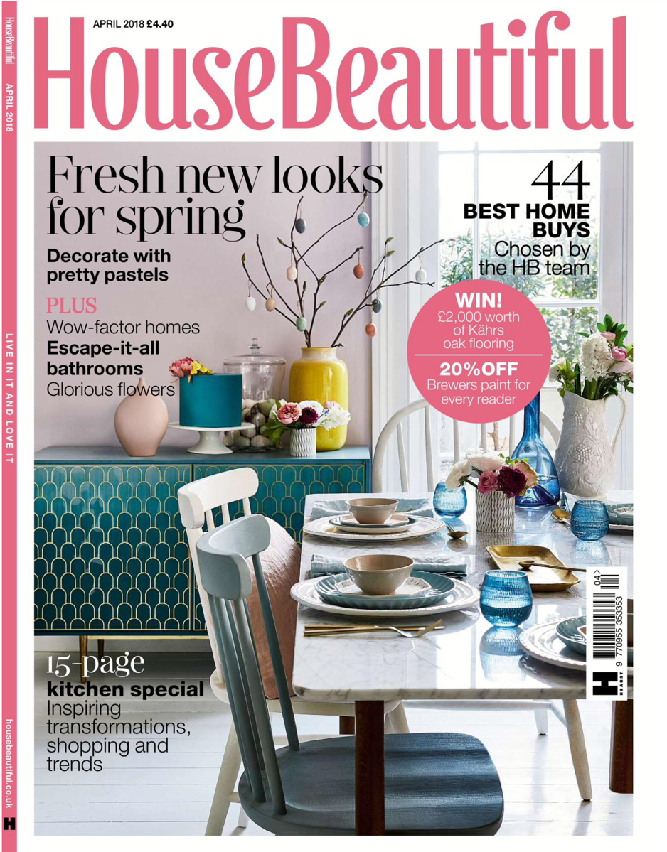House Beautiful - April 2018