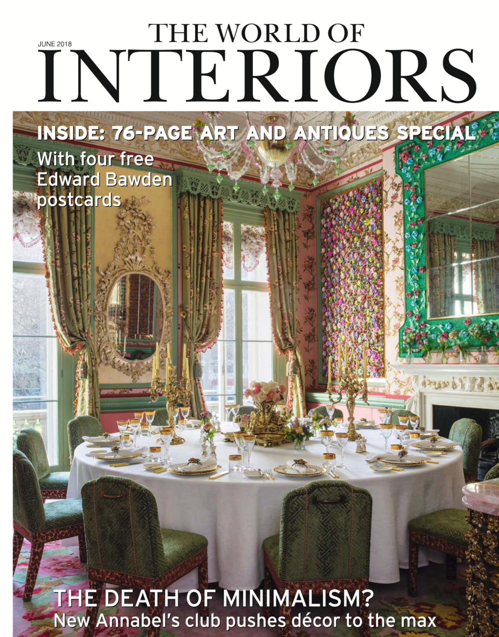 World of Interiors - June 2018