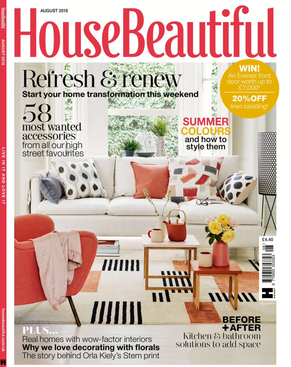 House Beautiful - August 2018