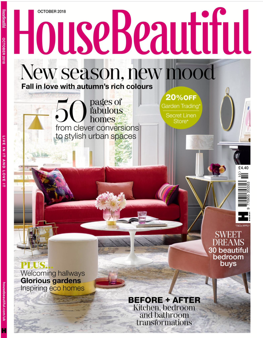 House Beautiful - October 2018