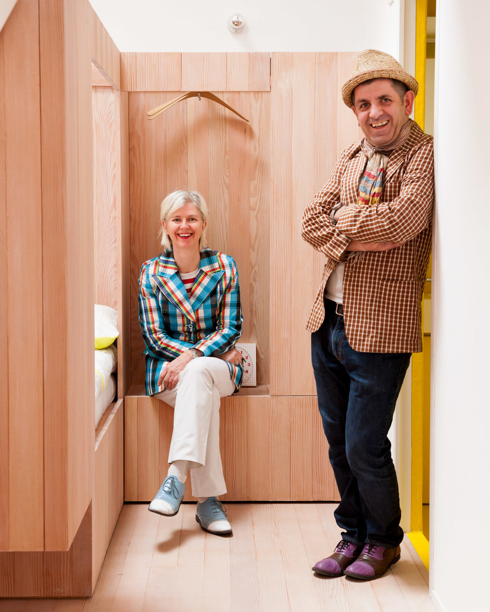 Designed By Studiomama - Danish designer Nina Tolstrup founded Studiomama in 2000 with husband and design collaborator Jack Mama. True to Nina's Scandinavian roots, simplicity and integrity are the trademarks of her work; a pared-down, contemporary but characterful aesthetic combined with a democratic belief in good design for all. A passionate belief in designing for the real world go a long way to explaining the timeless and unpretentious qualities of the studio's work. But whilst Studiomama's work can be simple, honest and minimal it is always playful, irreverent and humorous.