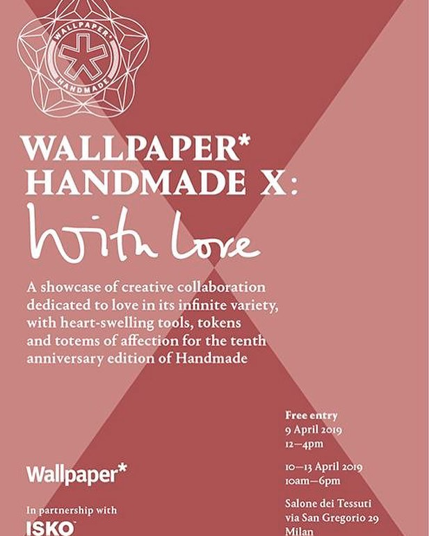 Another Brand will unveil its design collaboration on 9th April as part of the  @wallpapermag Handmade X exhibition during Salone Del Mobile, Milan. We hope you can join us in celebrating this incredible event's 10th Anniversary which we are very proud to be part of!  #design #anotherbranduk #wallpaperhandmade #wallpapermagazine #milandesignweek #salonedelmobile #milanfurniturefair #designcollaboration #creativity  #love