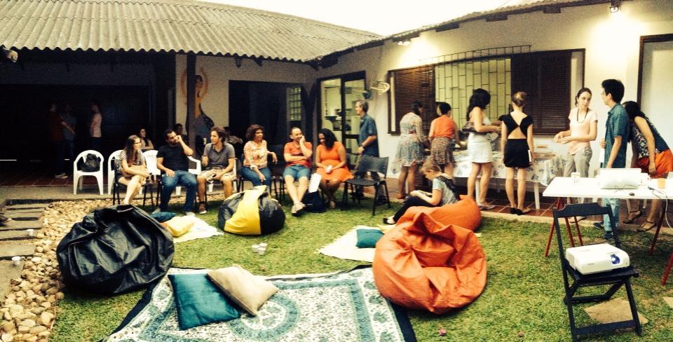 Dia de lançamento de novos negócios no  Vilaj , em Florianópolis. Foto: Renata Miguez .